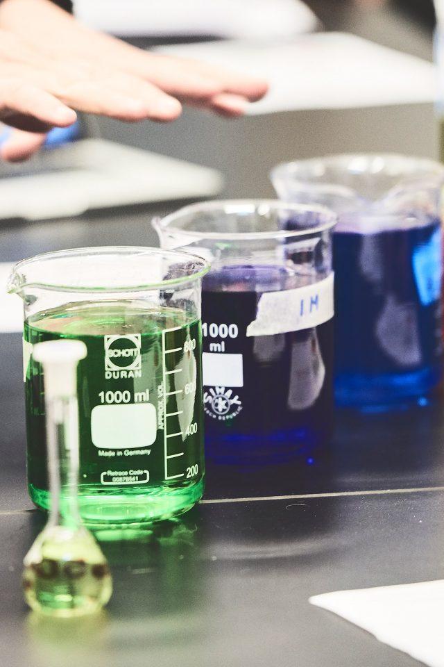 kemikalier i en kemitime
