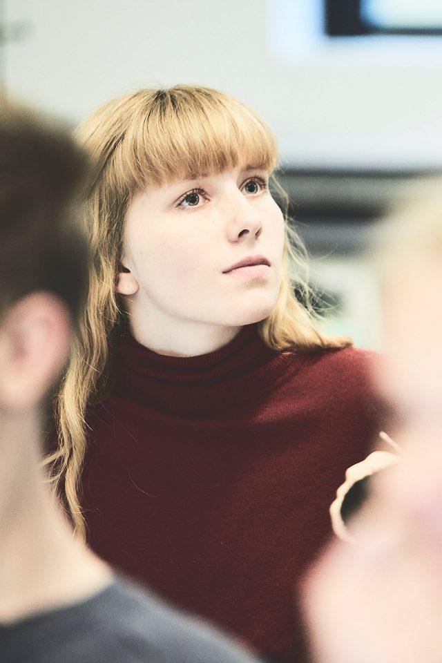 Lyttende elev