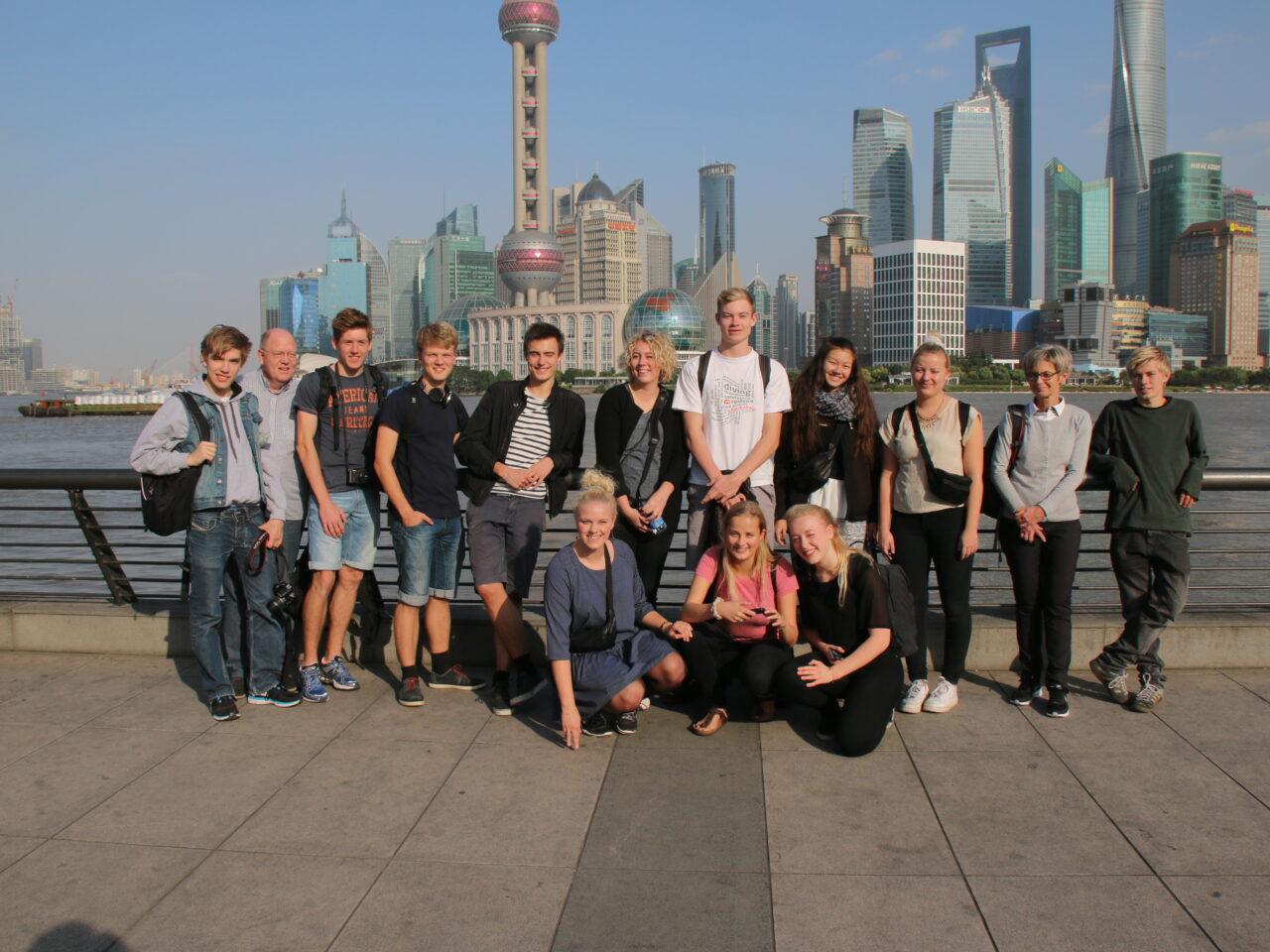 Elever i Shanghai