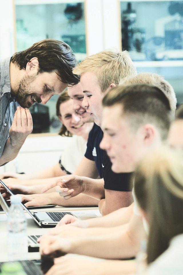 Billede fra en undervisningssituation