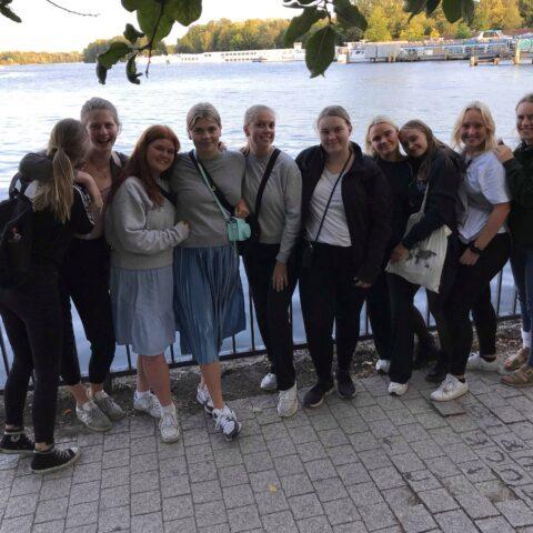 Billede af elever i Neustrelitz