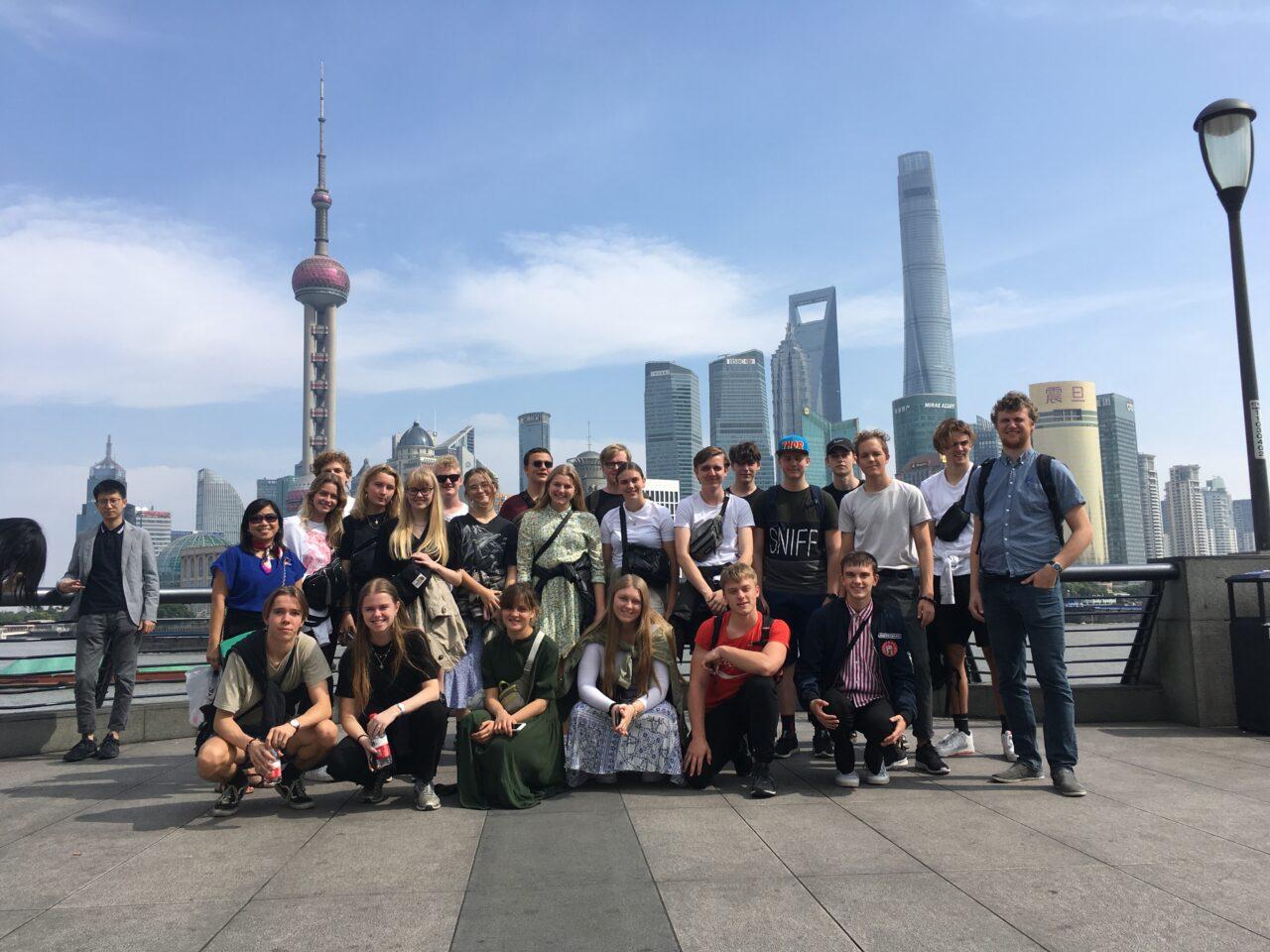 2.g og 3.g kinesisk i Shanghai