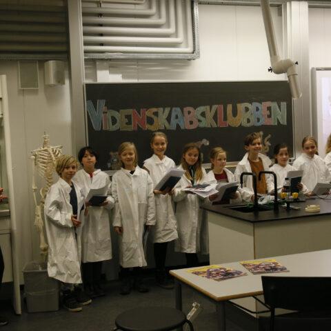 Eleverne fra Videnskabsklubben