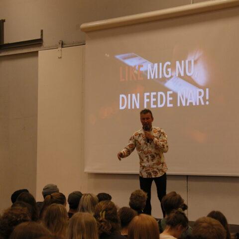 Søren Hebsgaard holder foredrag