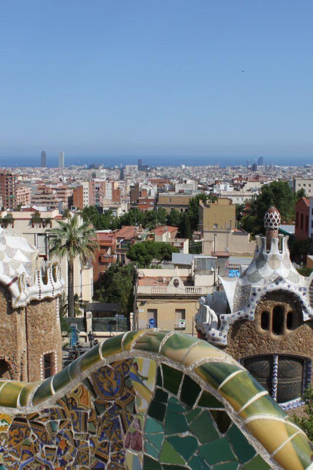 Fra byen Barcelona