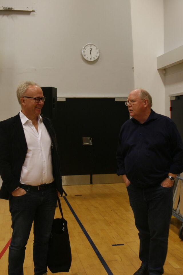David trads og Jens Nielsen