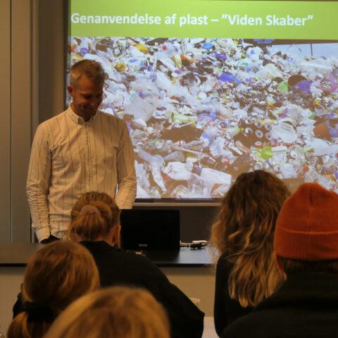 Foredrag ved Thomas Helmer Pedersen