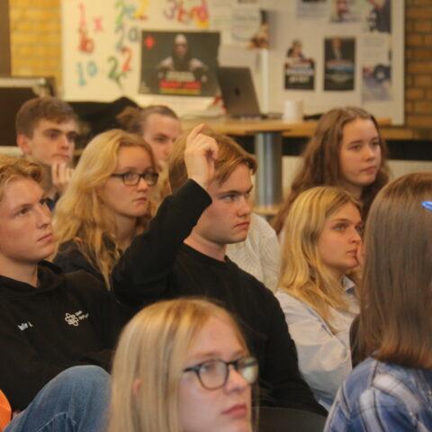 Debatlystne elever